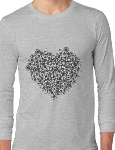 Hearts of Flowers Long Sleeve T-Shirt