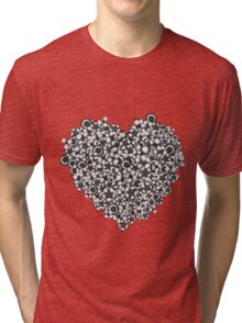 Hearts of Flowers Tri-blend T-Shirt
