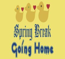 ㋡♥♫Spring Break-Going Home Ducks Clothing & Stickers♪♥㋡ Baby Tee