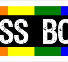 I Kiss Boys Sticker