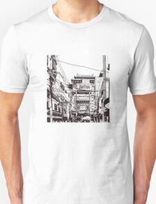 Yokohama - China town Unisex T-Shirt