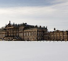 Snowy Wentworth Woodhouse by J Biggadike