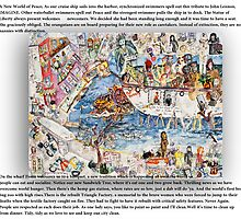 Imagine, A New World  by Barbara Mann