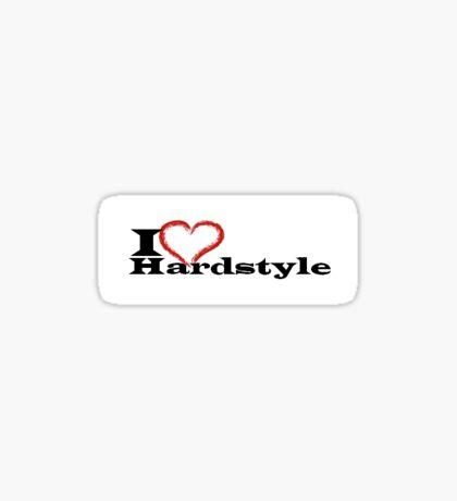 Hardstyle Sticker