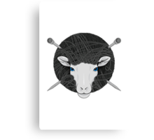 Woolly Head Canvas Print