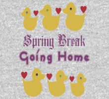 ㋡♥♫Spring Break-Going Home Ducks Clothing & Stickers♪♥㋡ One Piece - Long Sleeve