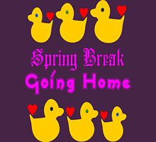 ㋡♥♫Spring Break-Going Home Ducks Clothing & Stickers♪♥㋡ Womens Fitted T-Shirt