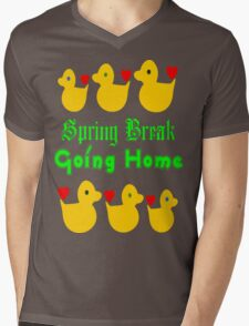 ㋡♥♫Spring Break-Going Home Ducks Clothing & Stickers♪♥㋡ Mens V-Neck T-Shirt