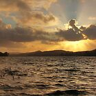 Coniston Water Sunset by James Biggadike