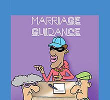 Marriage Guidance funny cartoon card. by TheNuttaz