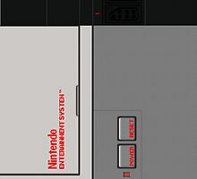 Nintendo Entertainment System by sro1444