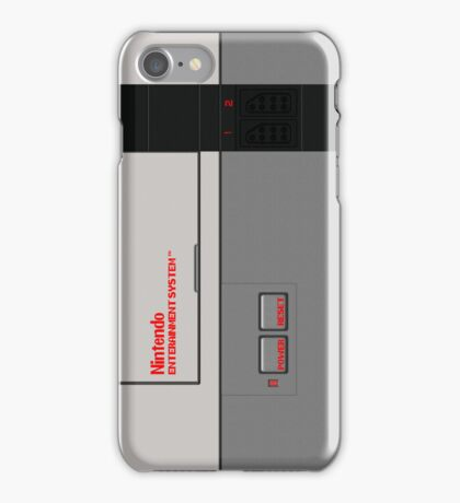 Nintendo Entertainment System iPhone Case/Skin