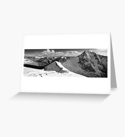 Ben Nevis North Face Greeting Card