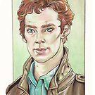 Benedict Cumberbatch by Jess-P