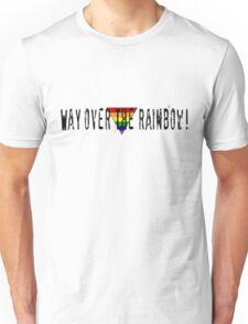 Way Over the Rainbow Unisex T-Shirt