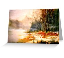 The First Warmth.. Greeting Card
