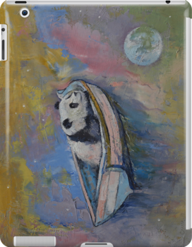 Panda Moon by Michael Creese