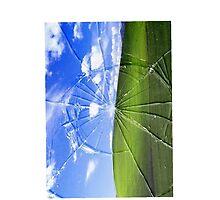 Windows XP default wallpaper smashed! by Loup-Garou Loser