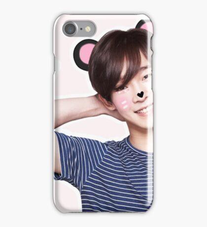 nam taehyun: pink iPhone Case/Skin