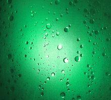Light Through Shower Door – Green by jojobob