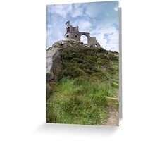Mow cop castle Greeting Card
