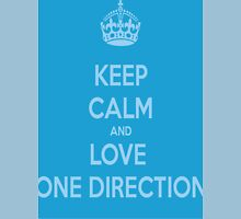 Keep Calm and Love One Direction Unisex T-Shirt