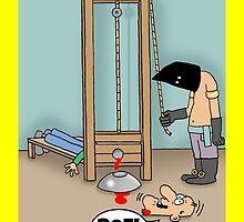 Funny ROFL cartoon greetings card. by TheNuttaz