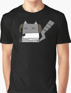 Leia Cat Graphic T-Shirt