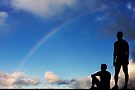 There's a rainbow in the sky all the time by Alex Preiss