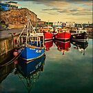 Seahouses Sunset by Tarrby