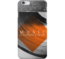 Outburst iPhone Case/Skin