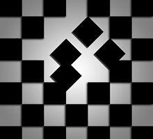 Falling Checkerboard by sro1444