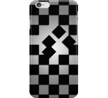 Falling Checkerboard iPhone Case/Skin