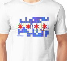 Tetris Chicago Unisex T-Shirt