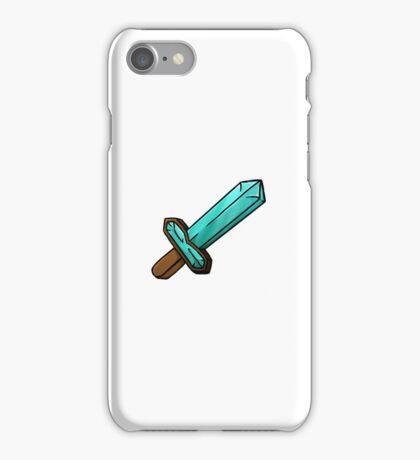 Minecraft Diamond Sword iPhone Case/Skin
