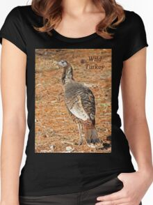 Wild Turkey Women's Fitted Scoop T-Shirt