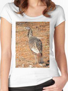 Wild Turkey Women's Fitted Scoop T-Shirt