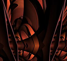 Curvilinear Project No. 104 ( Unravelling  ) by CurvilinearArt