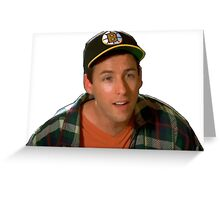 Happy Gilmore (Adam Sandler) Greeting Card