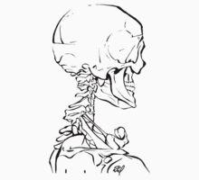 Skeleton Study One Piece - Long Sleeve
