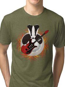 Badgers Rock Tri-blend T-Shirt