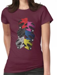 PSYCHO RANGERS  Womens Fitted T-Shirt