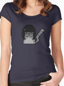Tina Cat Women's Fitted Scoop T-Shirt
