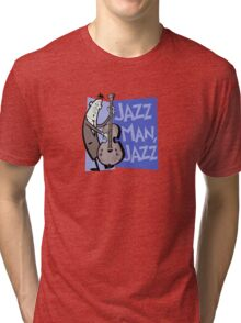 Jazz Man, Jazz Tri-blend T-Shirt
