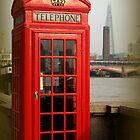 London Phone Box versus the Shard by karina5