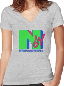 I WANT MY 64! Women's Fitted V-Neck T-Shirt