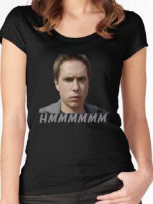 SIMON COOPER - THE INBETWEENERS Women's Fitted Scoop T-Shirt