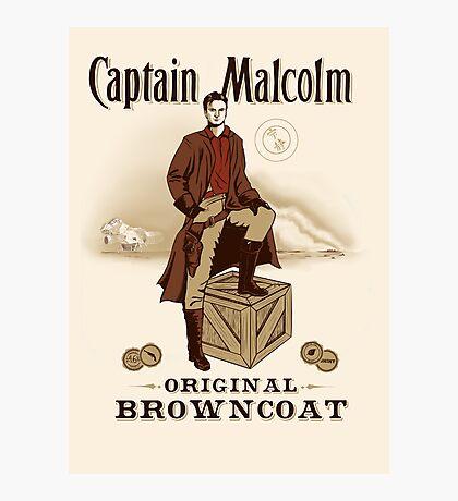 Captain Malcolm  Photographic Print