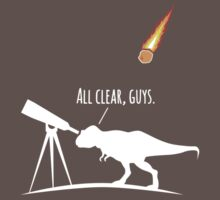 T-Rex was a Terrible Asteroid Hunter by alexhp