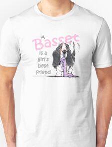 Basset Girls Best Friend Unisex T-Shirt